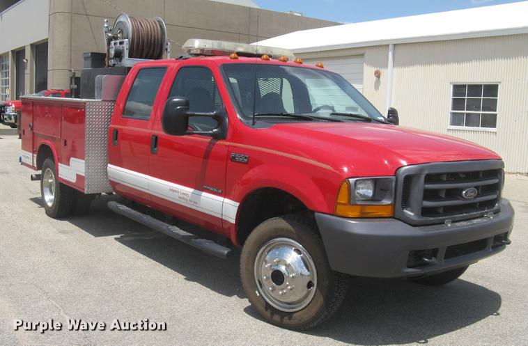 Bl9046 Image For Item 2000 Ford F550 Super Duty Xl Crew Cab Fire Truck: Ford F550 Truck Trailer Wiring At Gundyle.co