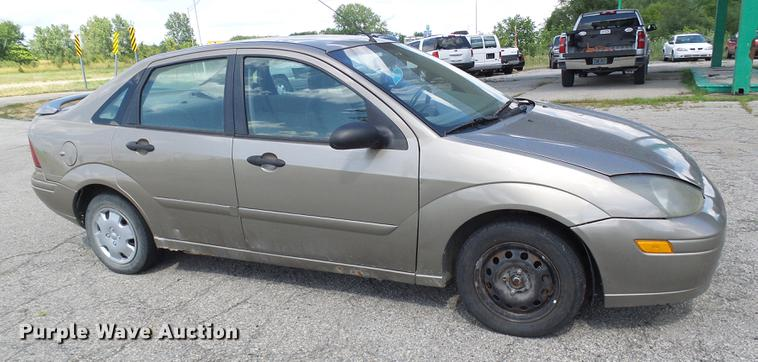 2003 Ford Focus Item Dd8647 Sold August 15 Vehicles And