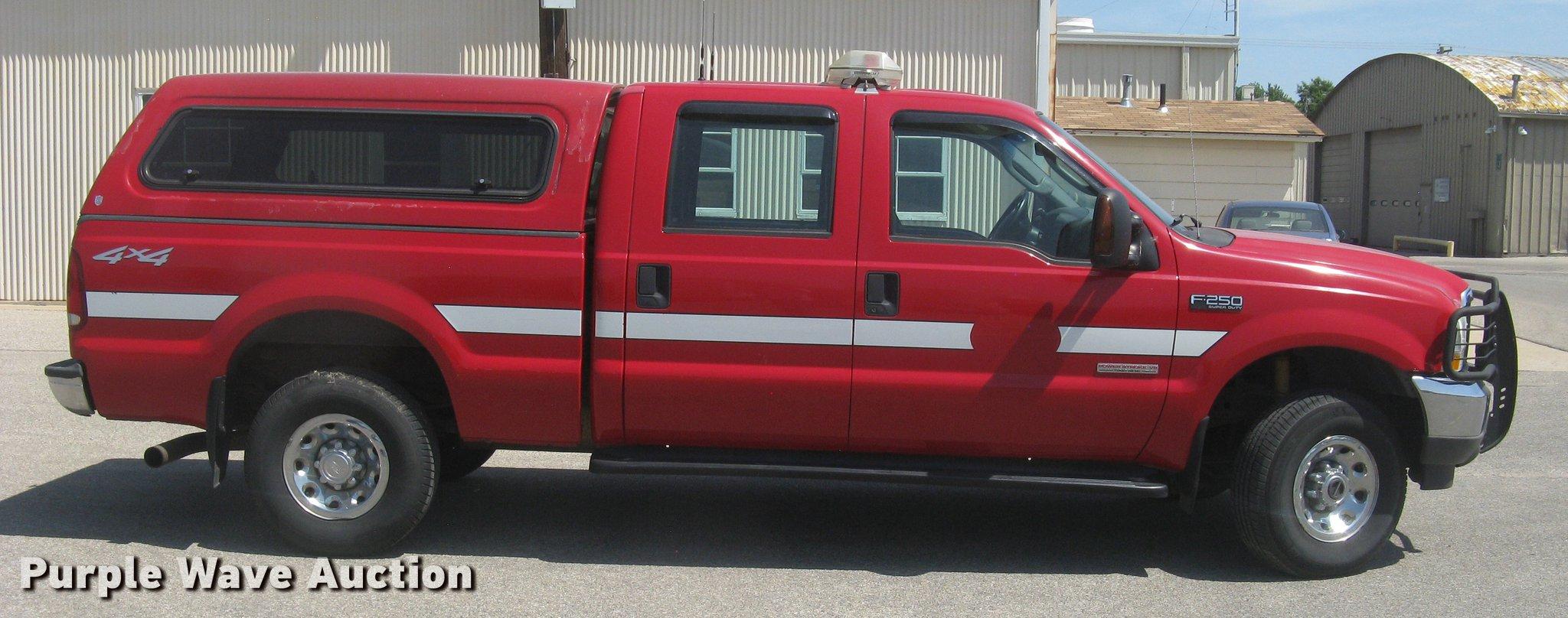 2004 Ford F250 Super Duty Xlt Crew Cab Pickup Truck Item B F 250 Full Size In New Window
