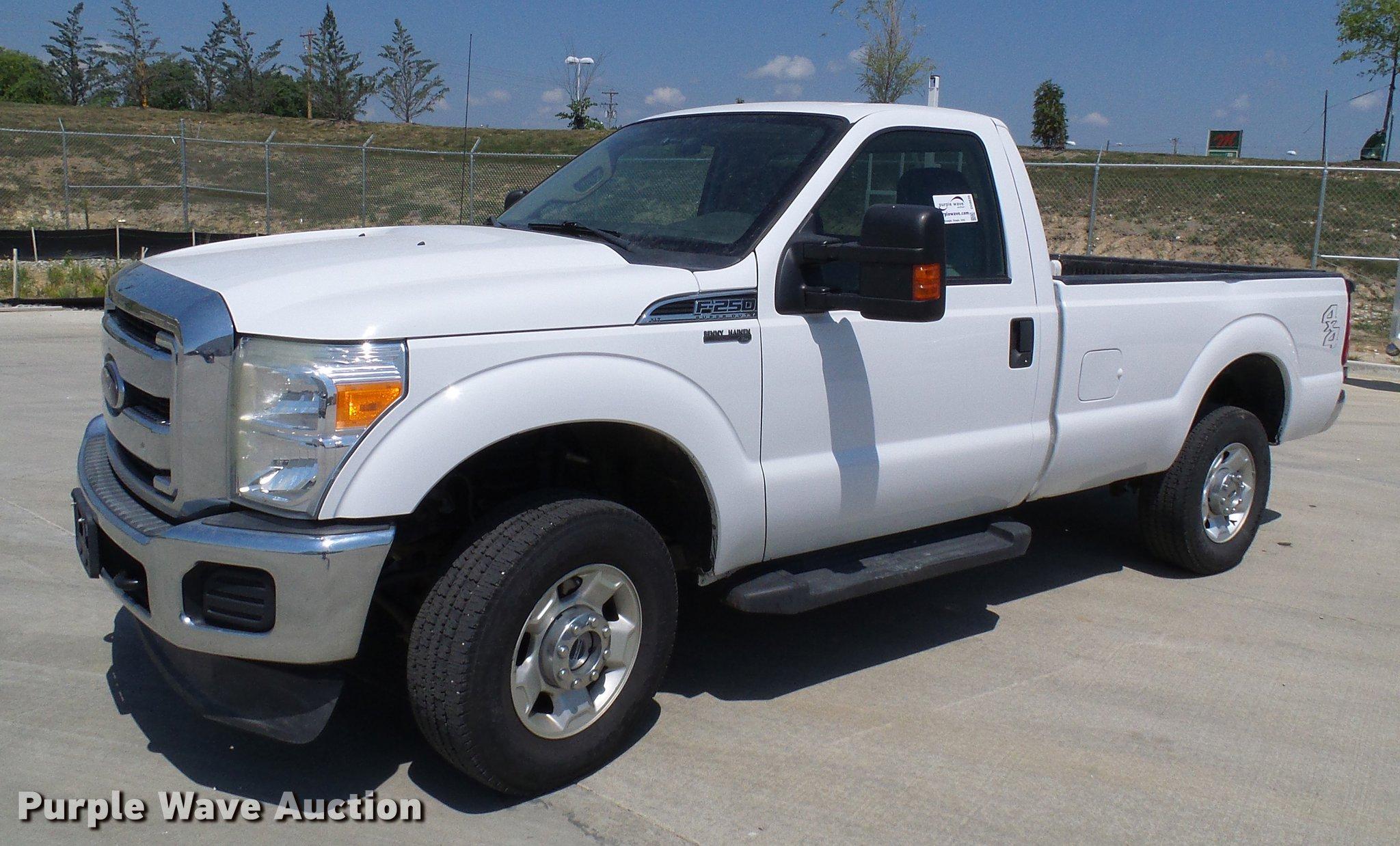 2012 ford f250 super duty pickup truck item dd8635 sold