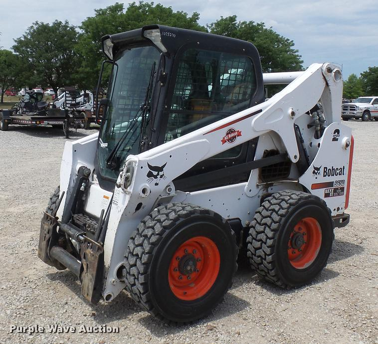 2014 Bobcat S650 skid steer | Item DX9444 | SOLD! August 16