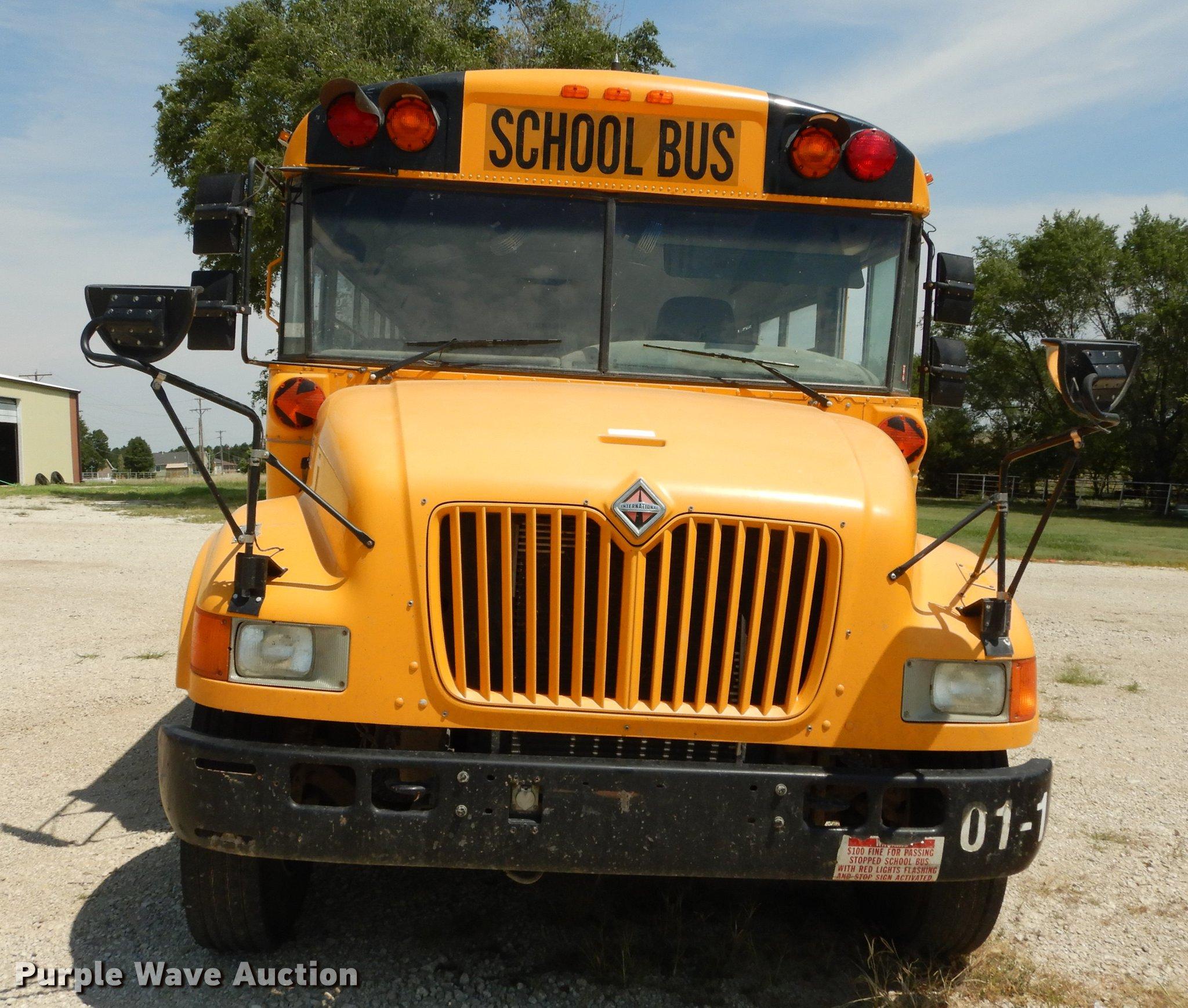 2001 International 3800 ATC school bus | Item DB8393 | SOLD!