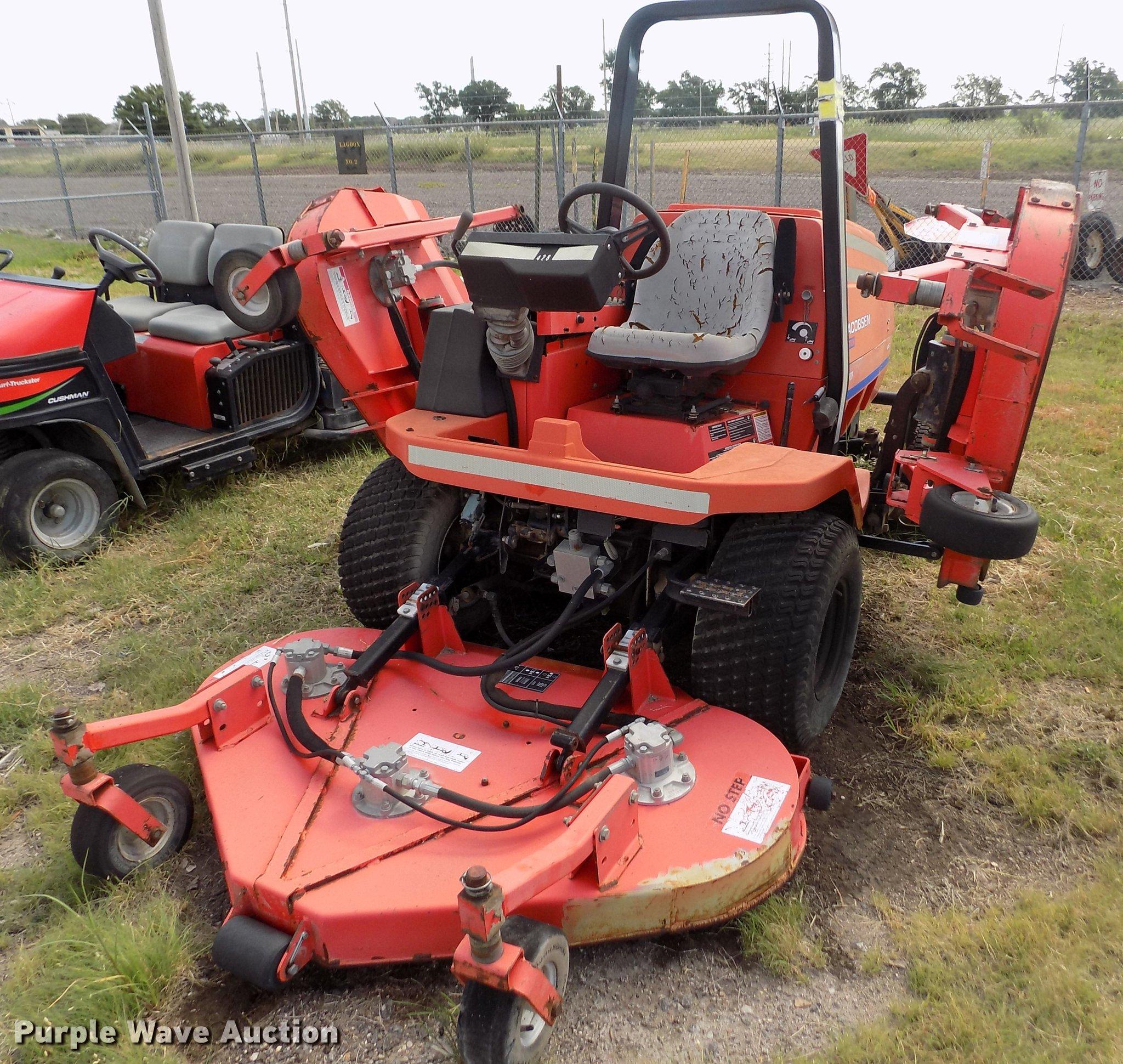 Array - 2000 jacobsen textron hr 5111 lawn mower   item db9205   sol     rh   purplewave com