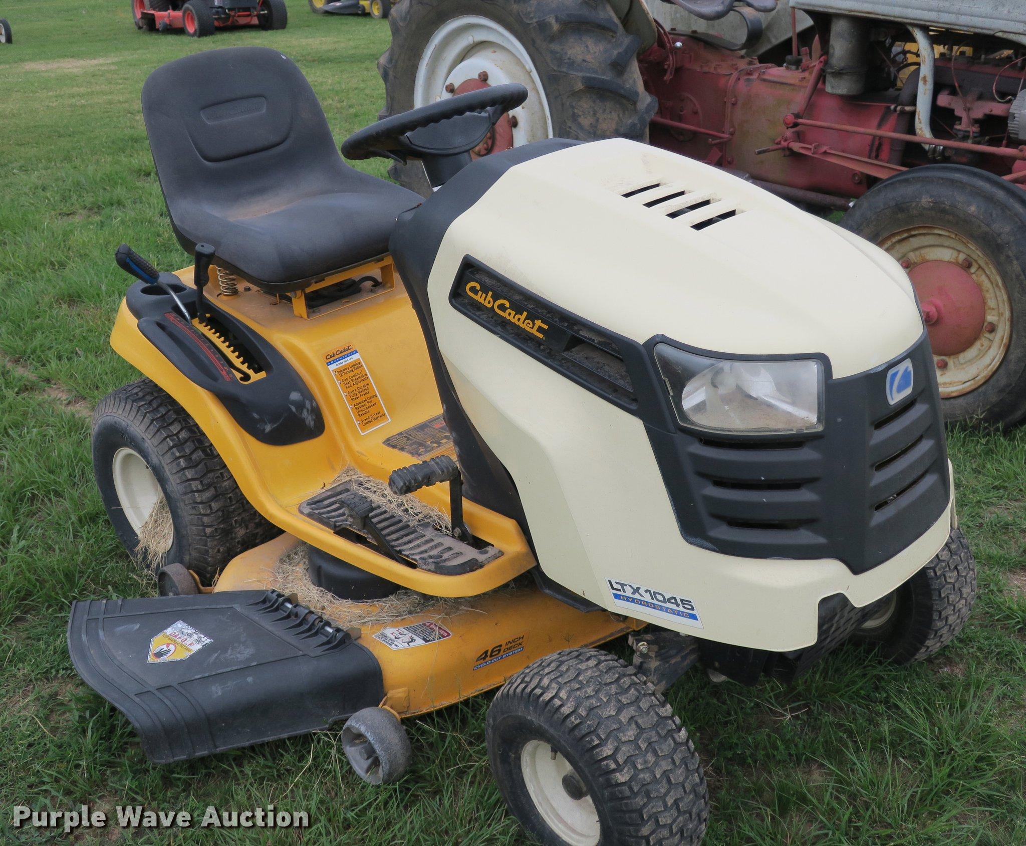 Cub Cadet Ltx 1045 Lawn Mower In Springdale  Ar