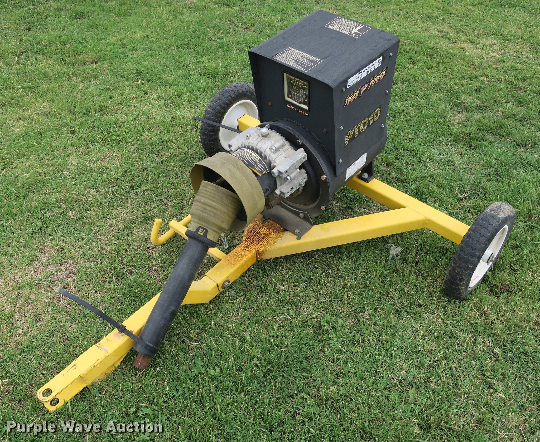 Tiger Power PT010 generator | Item EK9712 | SOLD! August 22