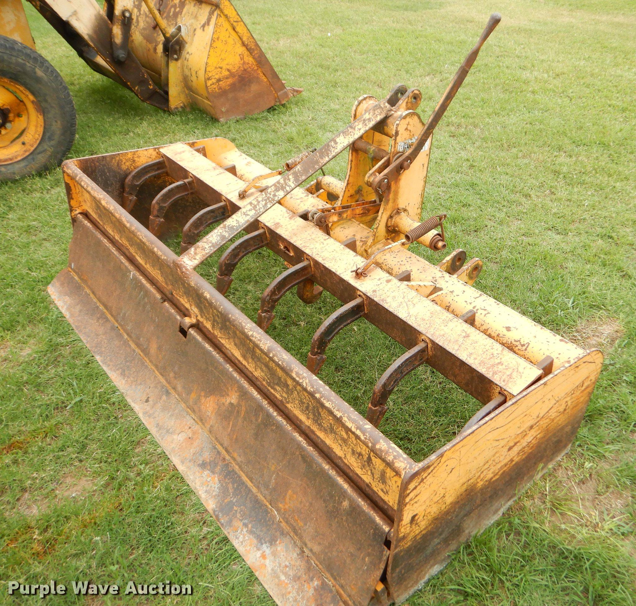 Gannon box blade   Item EK9722   SOLD! August 22 Ag Equipmen