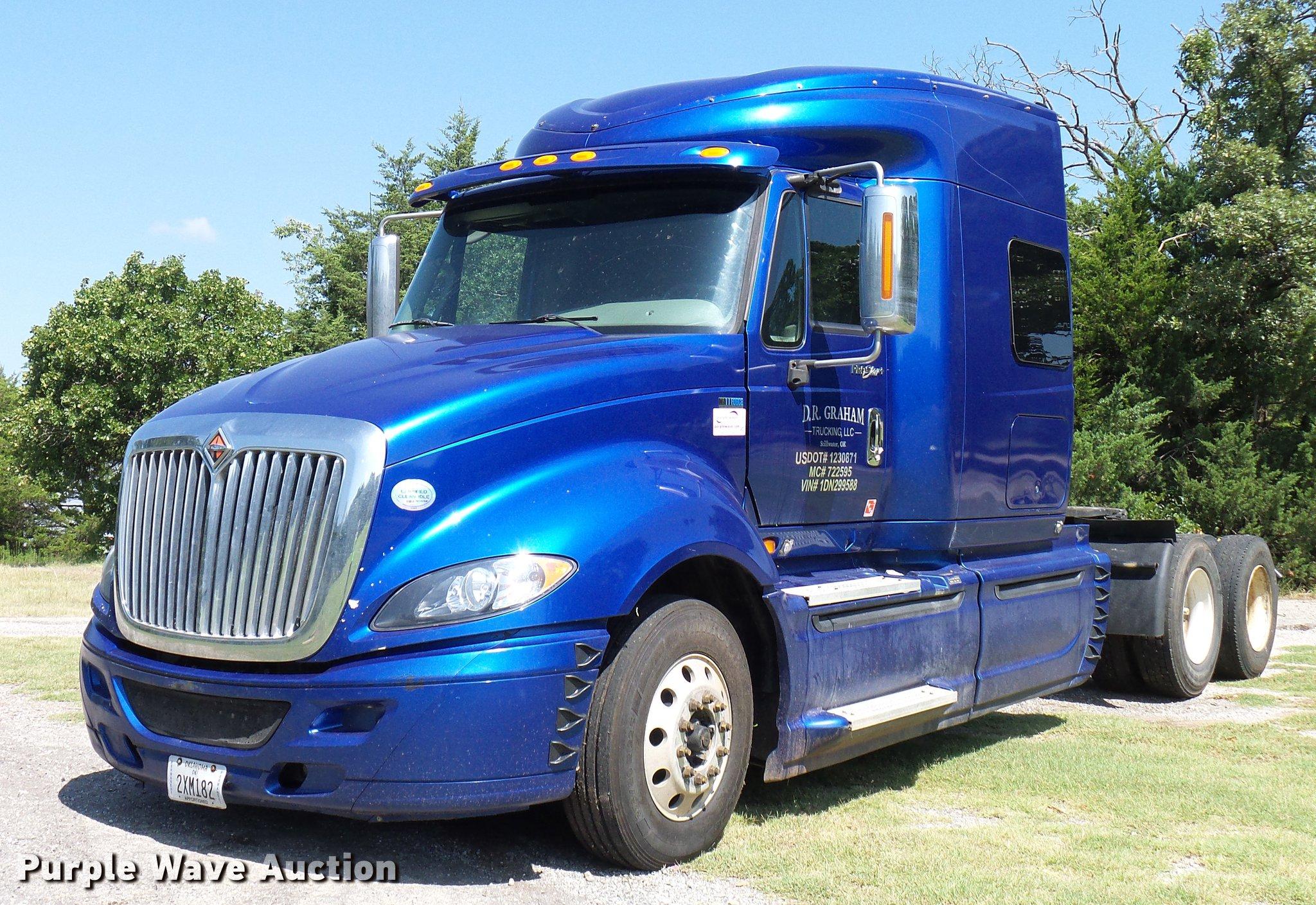 2013 international prostar plus semi truck item dd8341 s