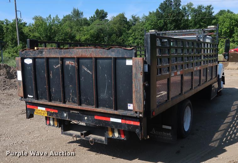 2012 International TerraStar flatbed truck | Item DF2331 | S