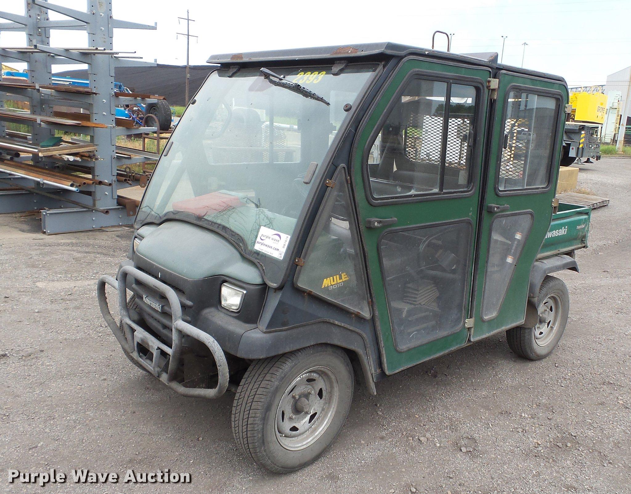 2008 Kawasaki Mule 3010 Utility Vehicle Item Db7078 Sold Fuel Filter Full Size In New Window