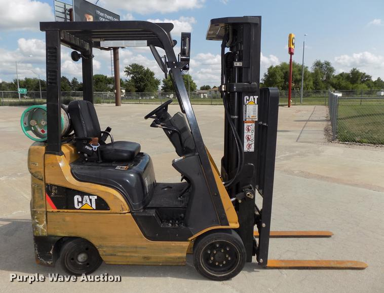 2009 Caterpillar C3500LP forklift | Item DB8652 | SOLD! Augu