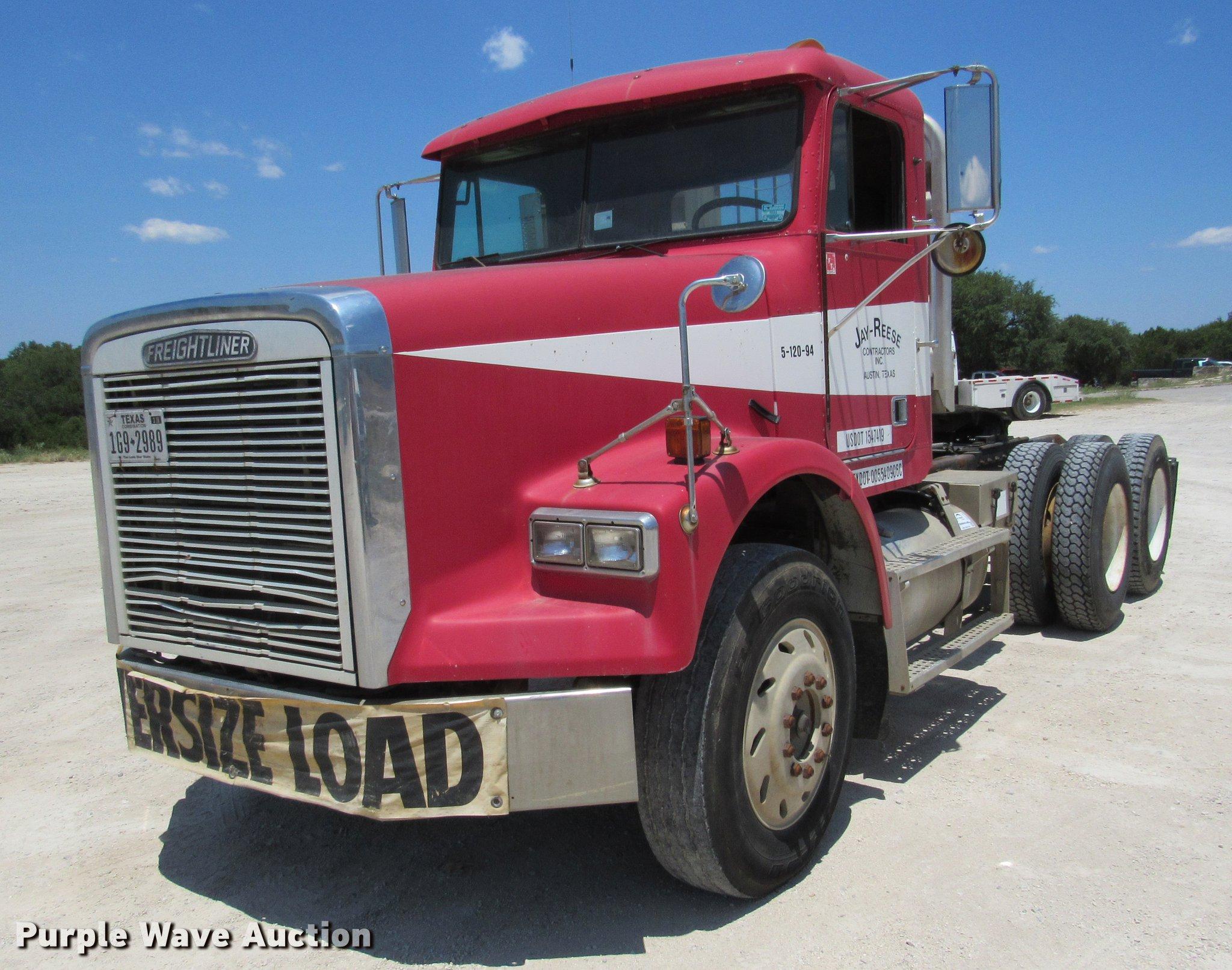 1994 Freightliner Fld120 Fuse Box Location Semi Truck Item De0183 Sold Se Rh Purplewave Com Freightline