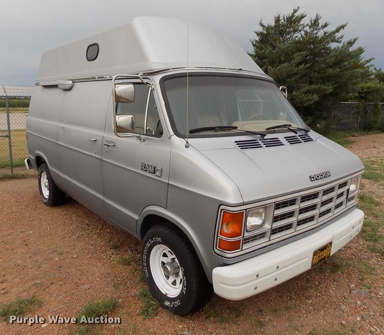 1988 Dodge Ram Van B250 van | Item ER9053 | SOLD! September