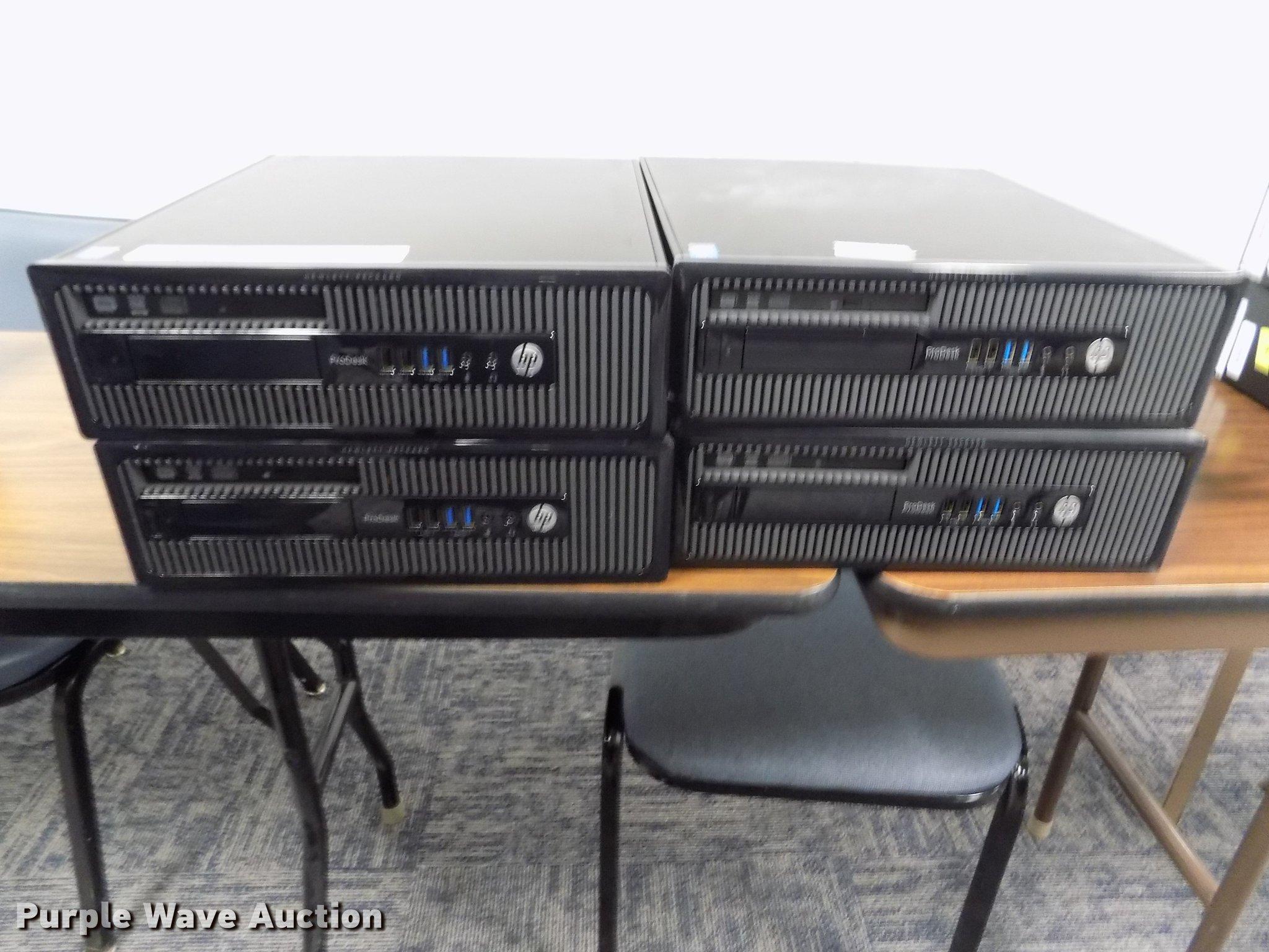 Verwonderlijk 4) HP ProDesk 400 G1 SFF computers   Item ER9026   SOLD! Se... AP-03