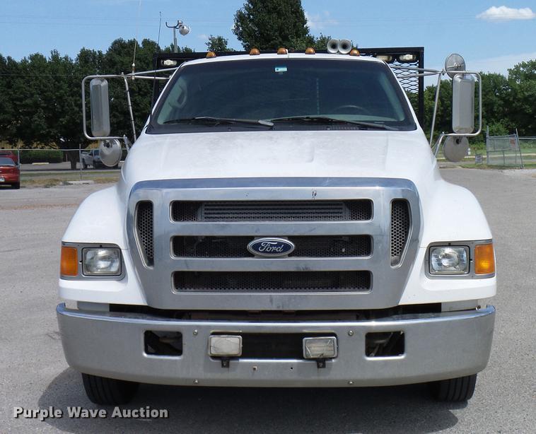 2005 Ford F650 Super Duty Xlt Flatbed Truck Item Dd8347 Rhpurplewave: Ford 650 Super Duty Xlt Fuse Box At Gmaili.net