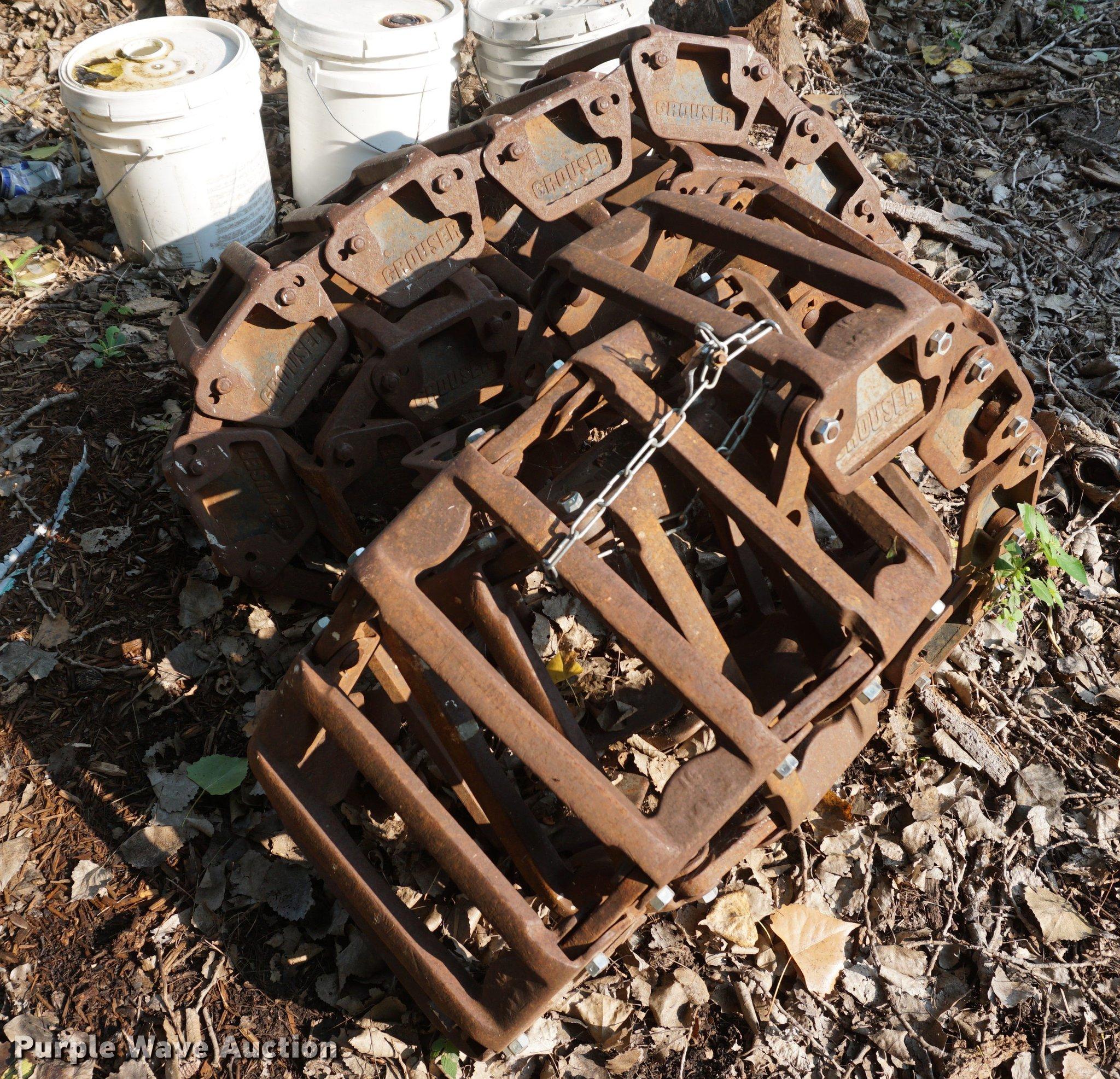 Grouser Skid Steer Tracks Item Es9928 Sold September 12
