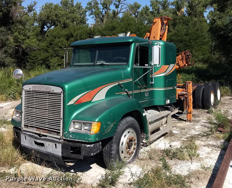 1994 Freightliner FLD120 crane truck | Item ER9049 | SOLD! S...
