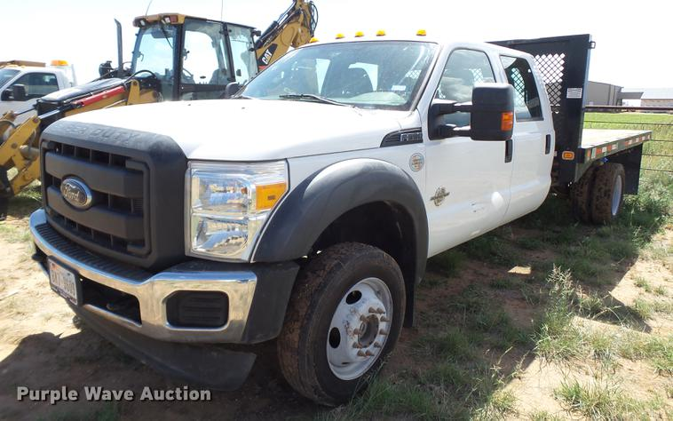 Fb9500 Image For Item 2012 Ford F550 Super Duty Crew Cab Flatbed Truck: Ford F550 Truck Trailer Wiring At Gundyle.co