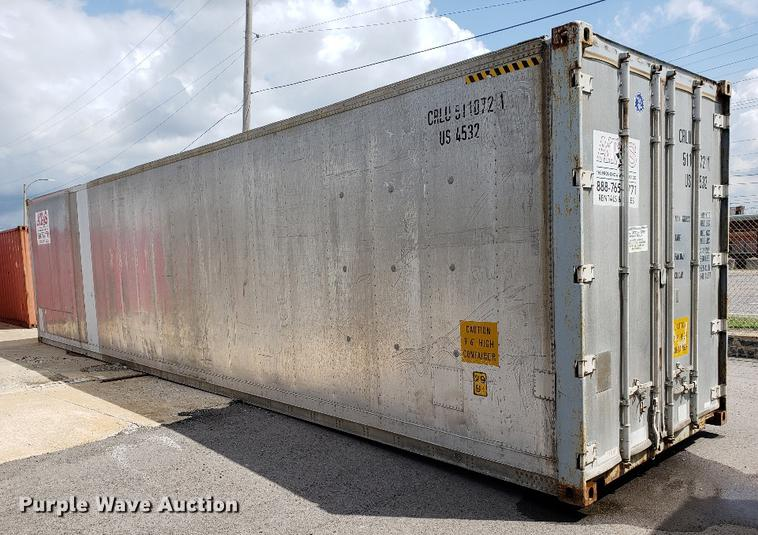 Refrigerated storage container | Item G1300 | SOLD! Septembe