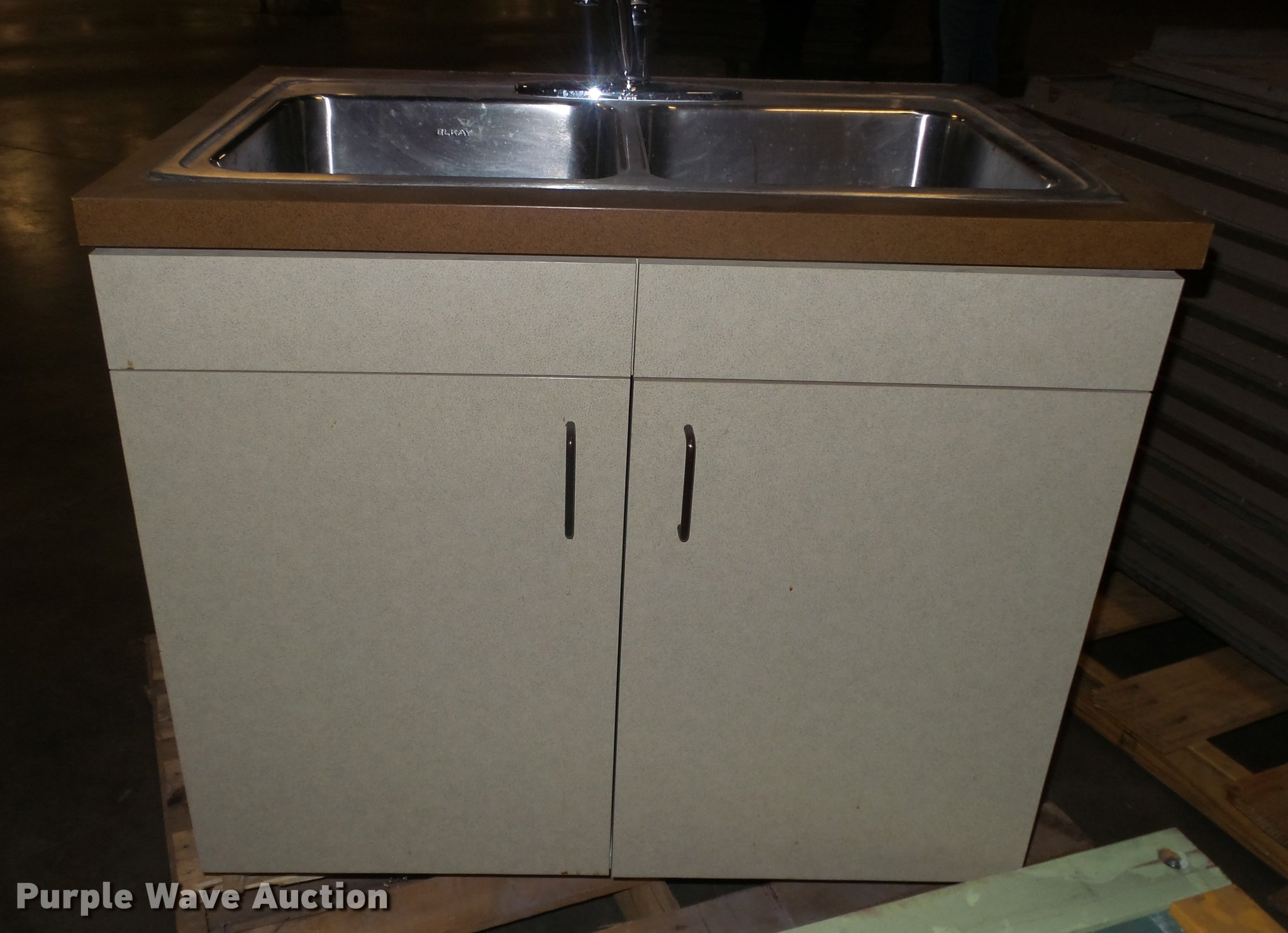 Stainless Steel Double Kitchen Sink Item Er9594 Sold Se