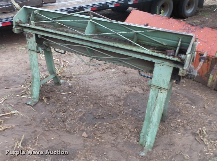 Metal Brake For Sale >> Chicago 520 Metal Brake Item Es9386 Sold September 19 A