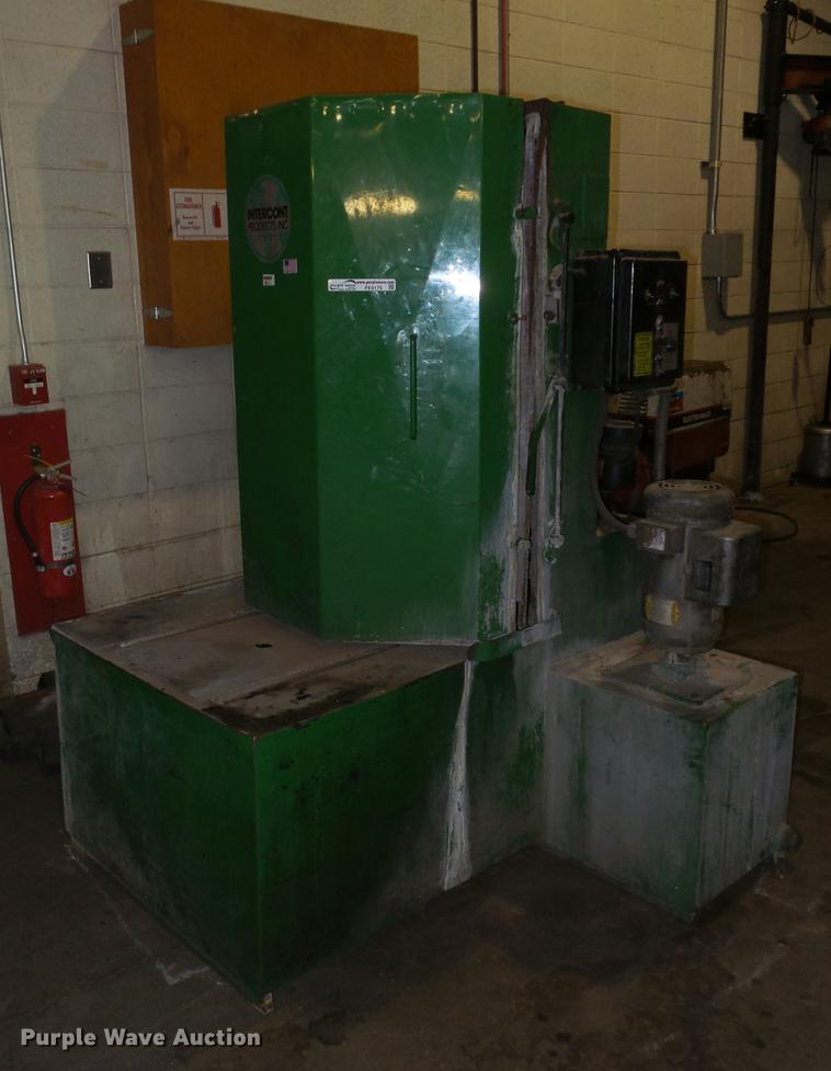 Intercont parts washer | Item FE9175 | SOLD! September 25 Go