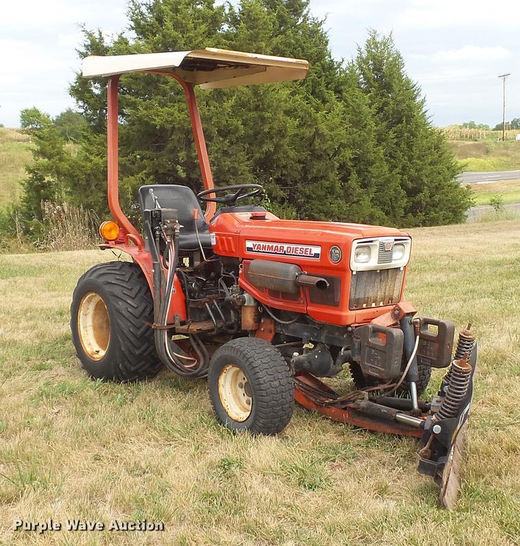 dd7331 image for item dd7331 yanmar ym186d mfwd tractor