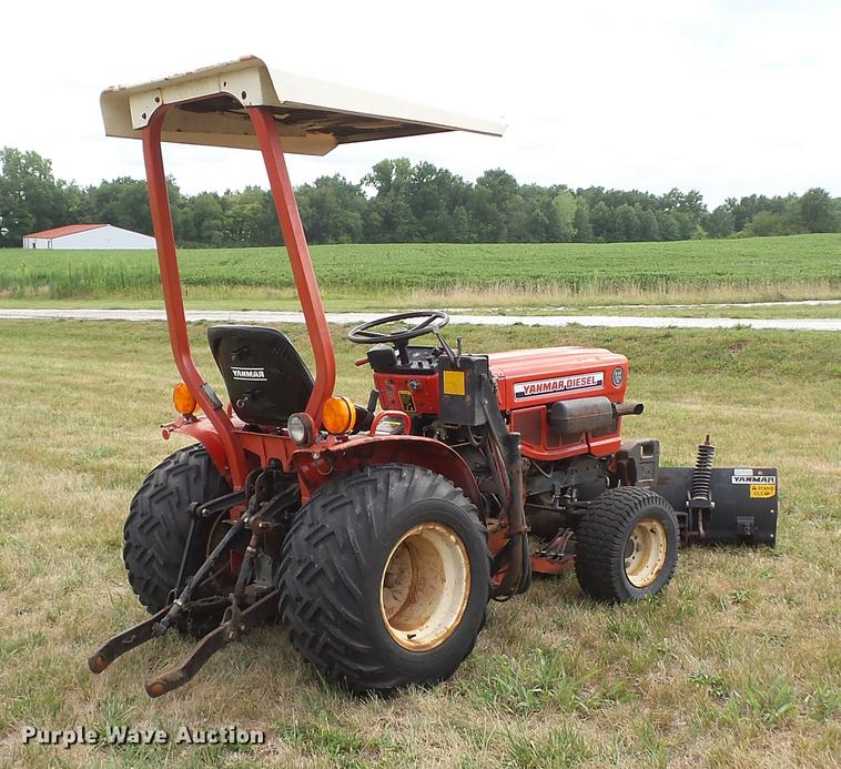 yanmar ym186d mfwd tractor item dd7331 sold! september 2 Yanmar Rs1303 Tiller dd7331 image for item dd7331 yanmar ym186d mfwd tractor