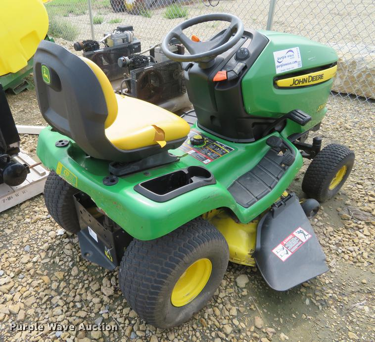 john deere x300 lawn mower in abilene ks  item de6378