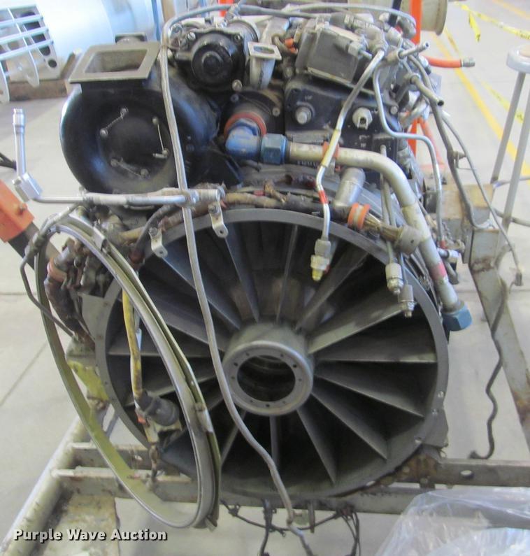 Turbo Jet J85-GE-17 turbine engine   Item DZ9987   SOLD! Sep