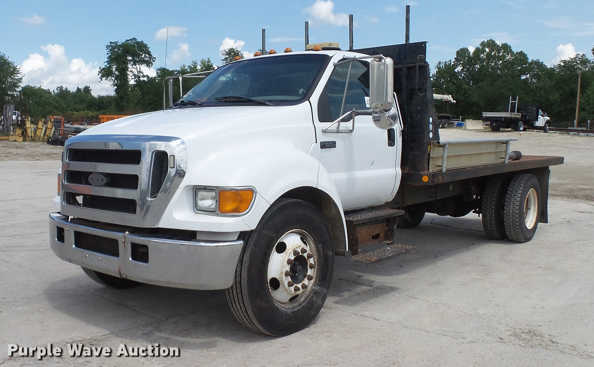 DD7345 image for item DD7345 2005 Ford F650 Super Duty ...