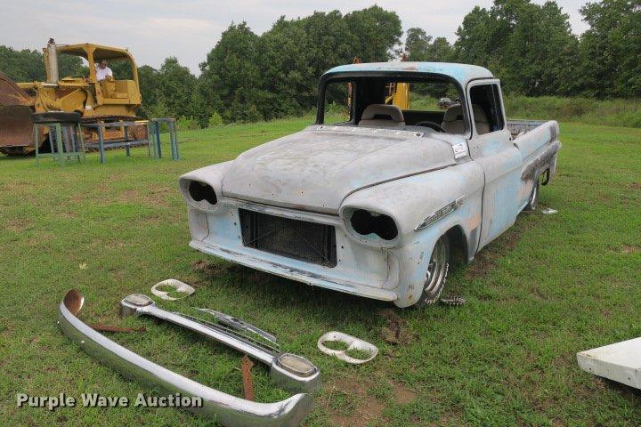 1959 Chevrolet Apache 32 Pickup Truck Item De3809 Sold