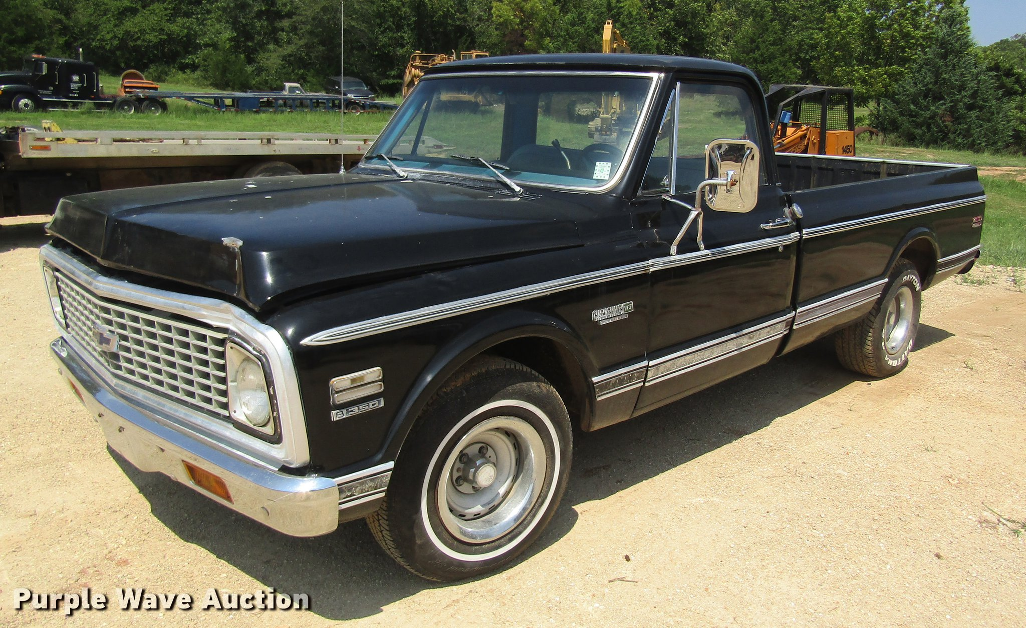 1972 Chevrolet Cheyenne 10 Pickup Truck Item De5184 Sold