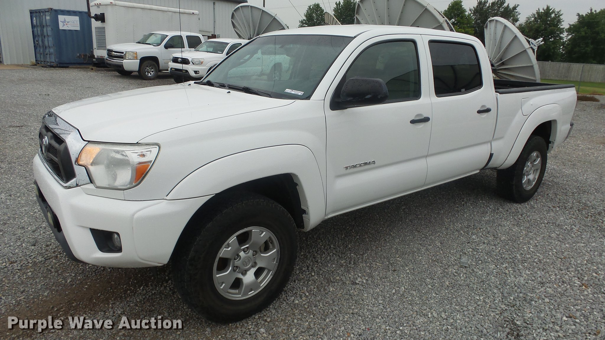 ... 2012 Toyota Tacoma Double Cab Pickup Truck Item ES9268 W