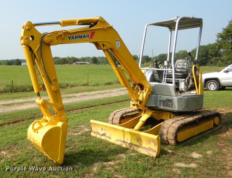Yanmar VIO35-2 mini excavator | Item EO9501 | SOLD! Septembe