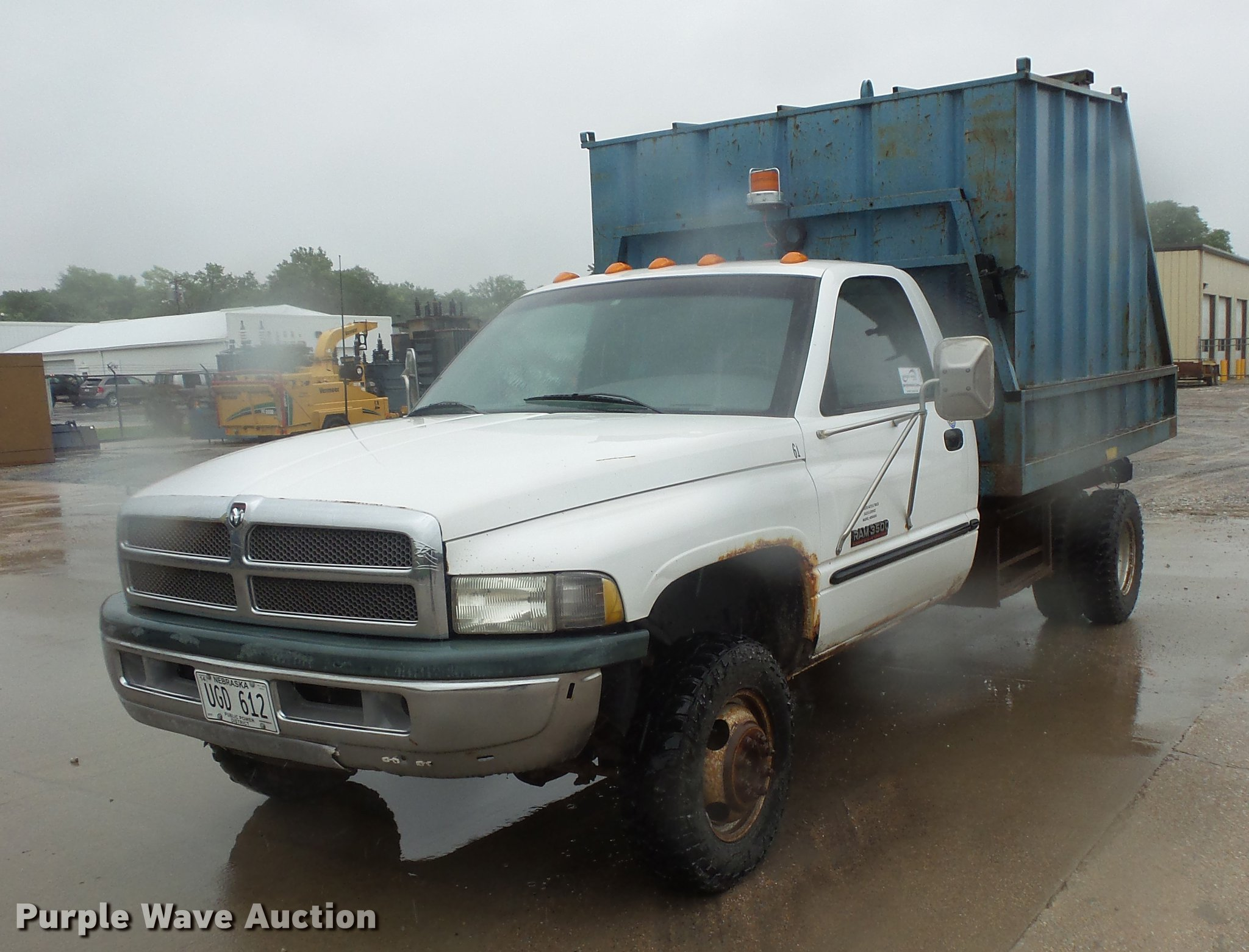 1999 Dodge Ram 3500 Dump Bed Pickup Truck Item Dd4276 So