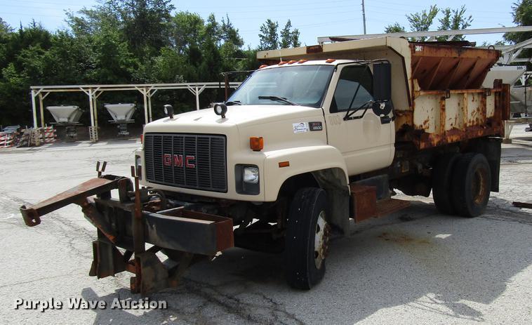 1997 gmc c8500 dump truck item dd7903 sold! october 9 go GMC Semi Truck dd7903 image for item dd7903 1997 gmc c8500 dump truck