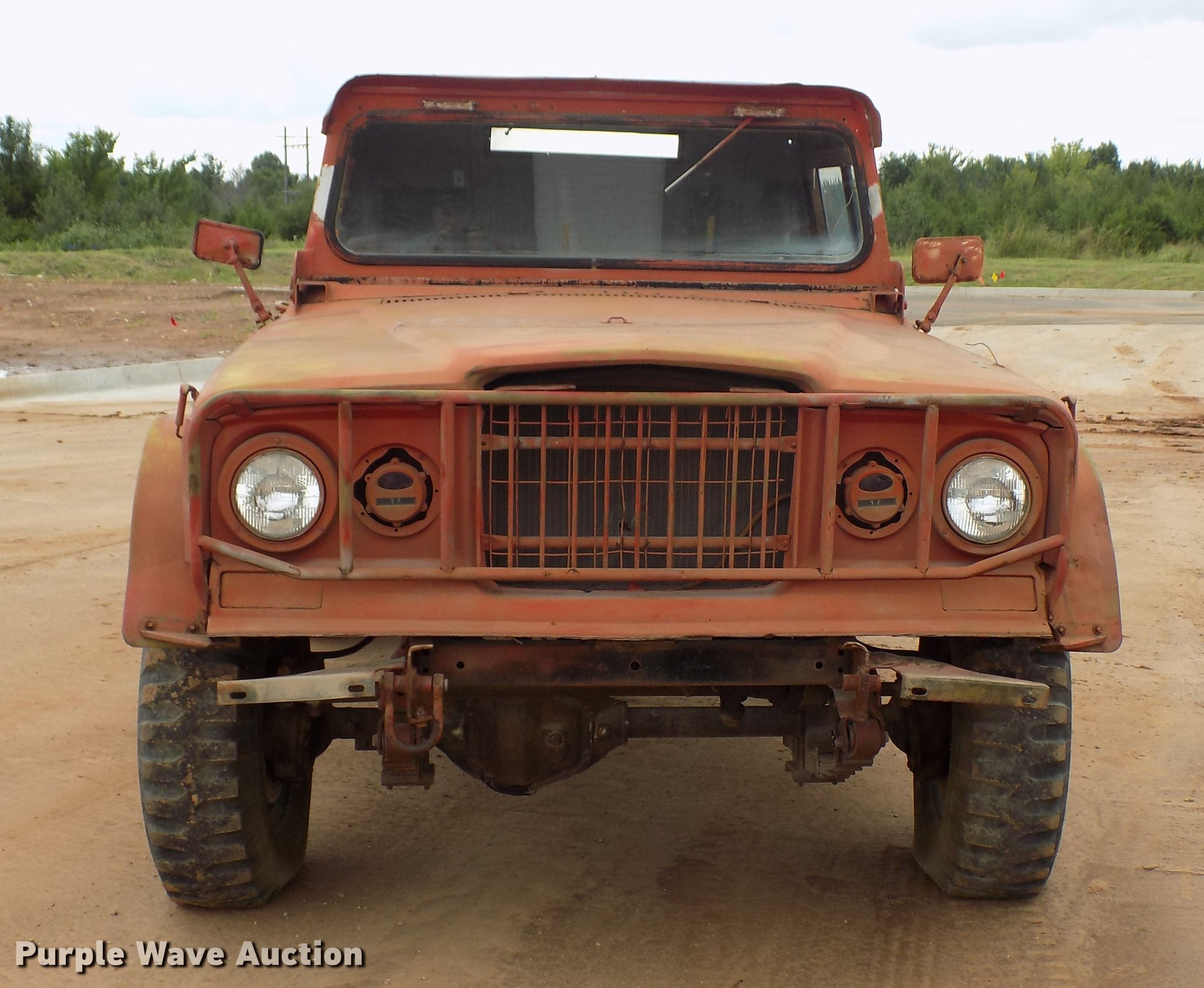 1968 Kaiser Jeep M715 Truck Item Dd5321 Sold October 10 Wiring Full Size In New Window