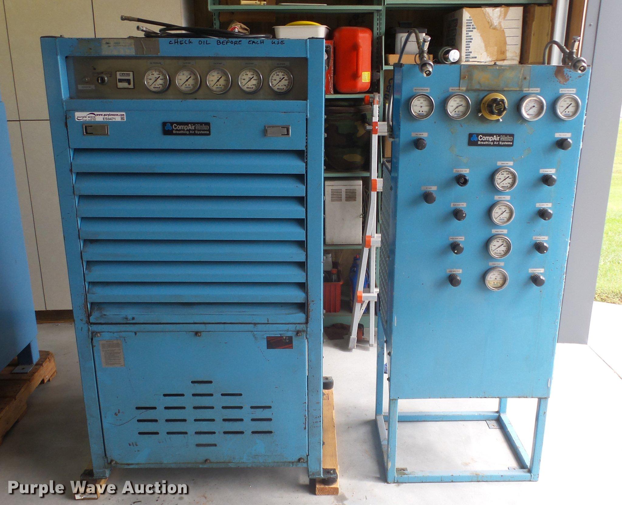 Mako CompAir breathing air compressor | Item ES9471 | SOLD! ... on