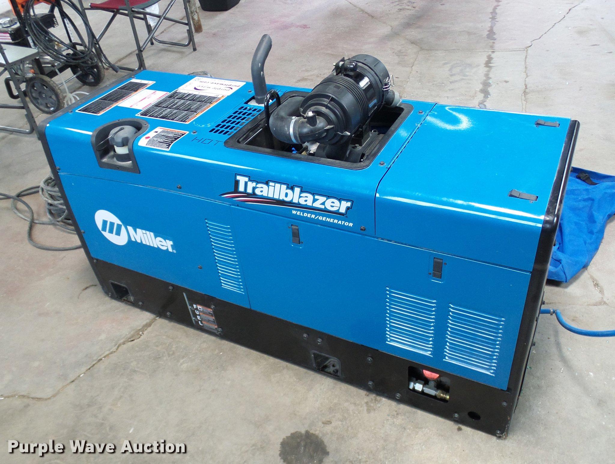 2017 Miller Trailblazer 302 Air Pak Welder Generator With