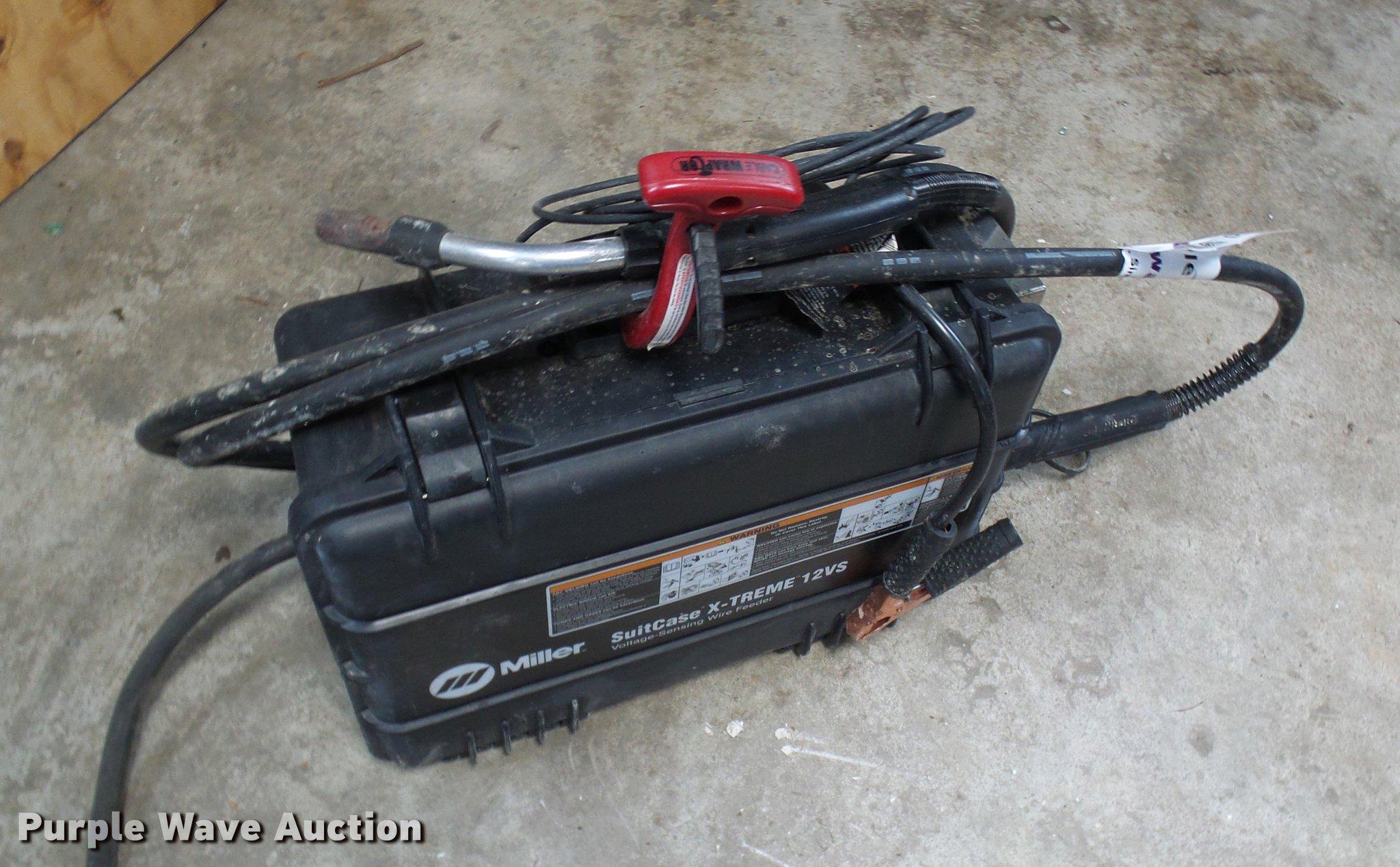 Miller suitcase xtreme 12vs hook up