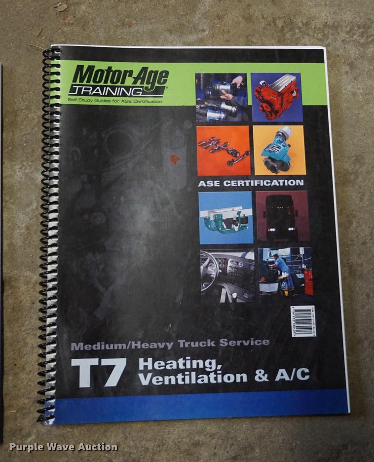 Ase Certification Self Study Guides Item Em9726 Sold Oc