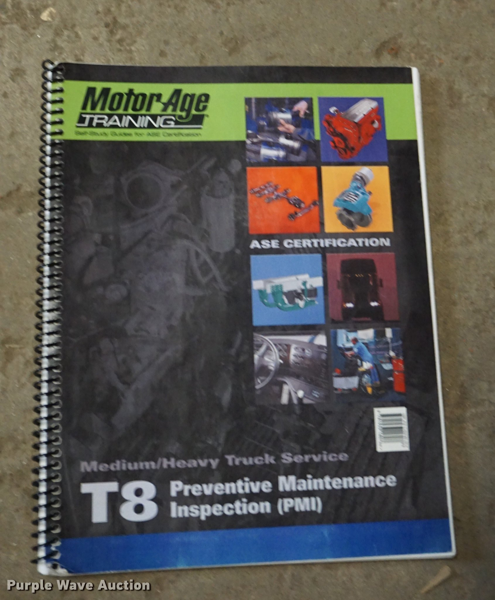 ase kansas certification guides study self sold auction