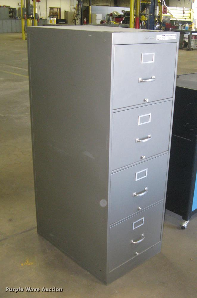 Shaw Walker Four Drawer File Cabinet Item Dq9698 Sold O