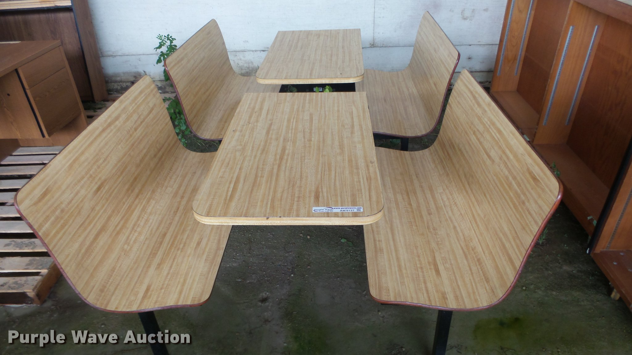 Restaurant Tables For Sale >> 2 Restaurant Tables Item Am9137 Sold October 23 Gover