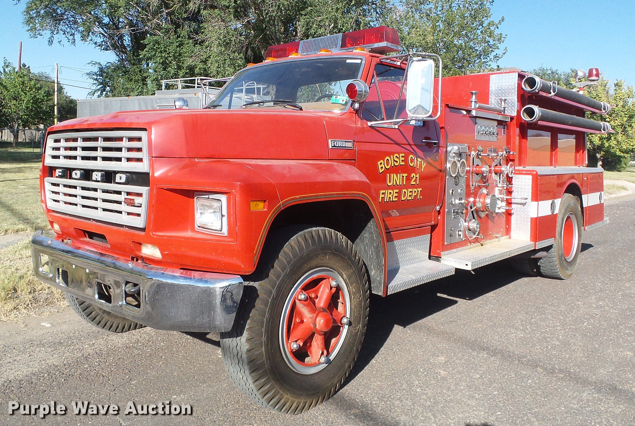 85 Ford F700 Shop Manual Mini R53 Coupe Cooper S Ece Engine Electrical System Various Wiring Array 1980 Fire Truck Item Df2768 Sold October 23 G Rh Purplewave Com