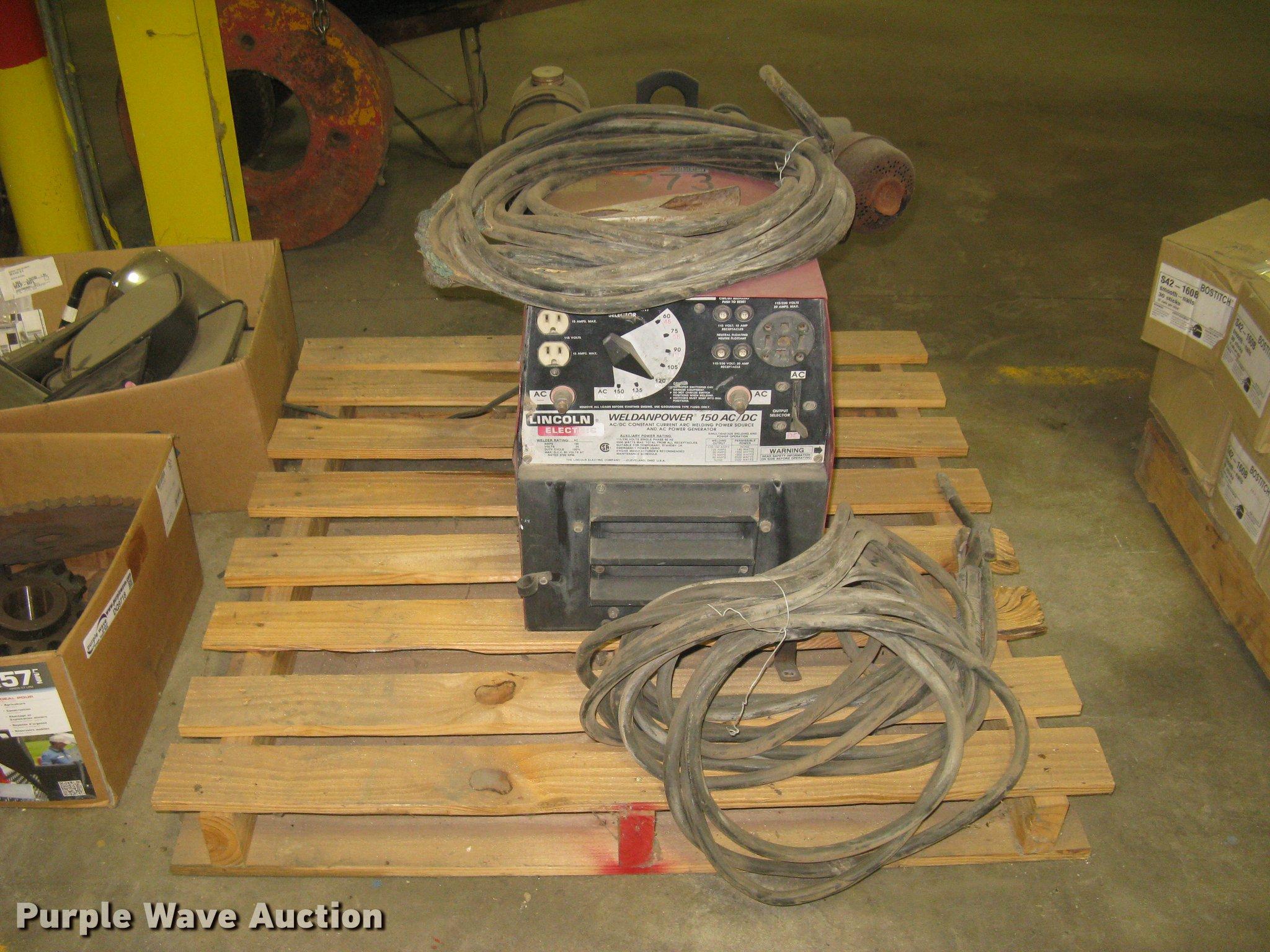 Lincoln Weldanpower 150 AC/DC arc welder | Item DQ9719 | 10-... on
