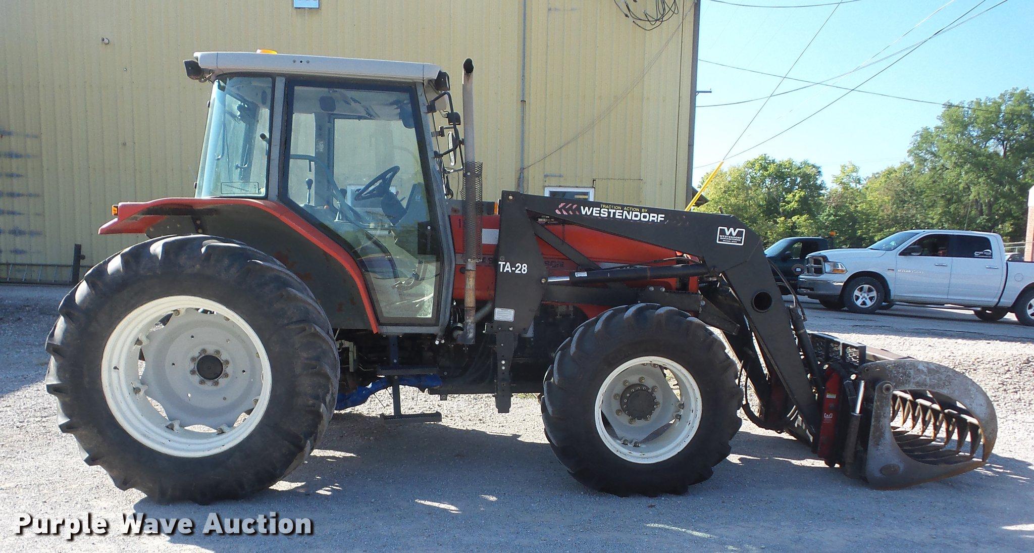 ... Massey-Ferguson 4360 MFWD tractor Full size in new window ...
