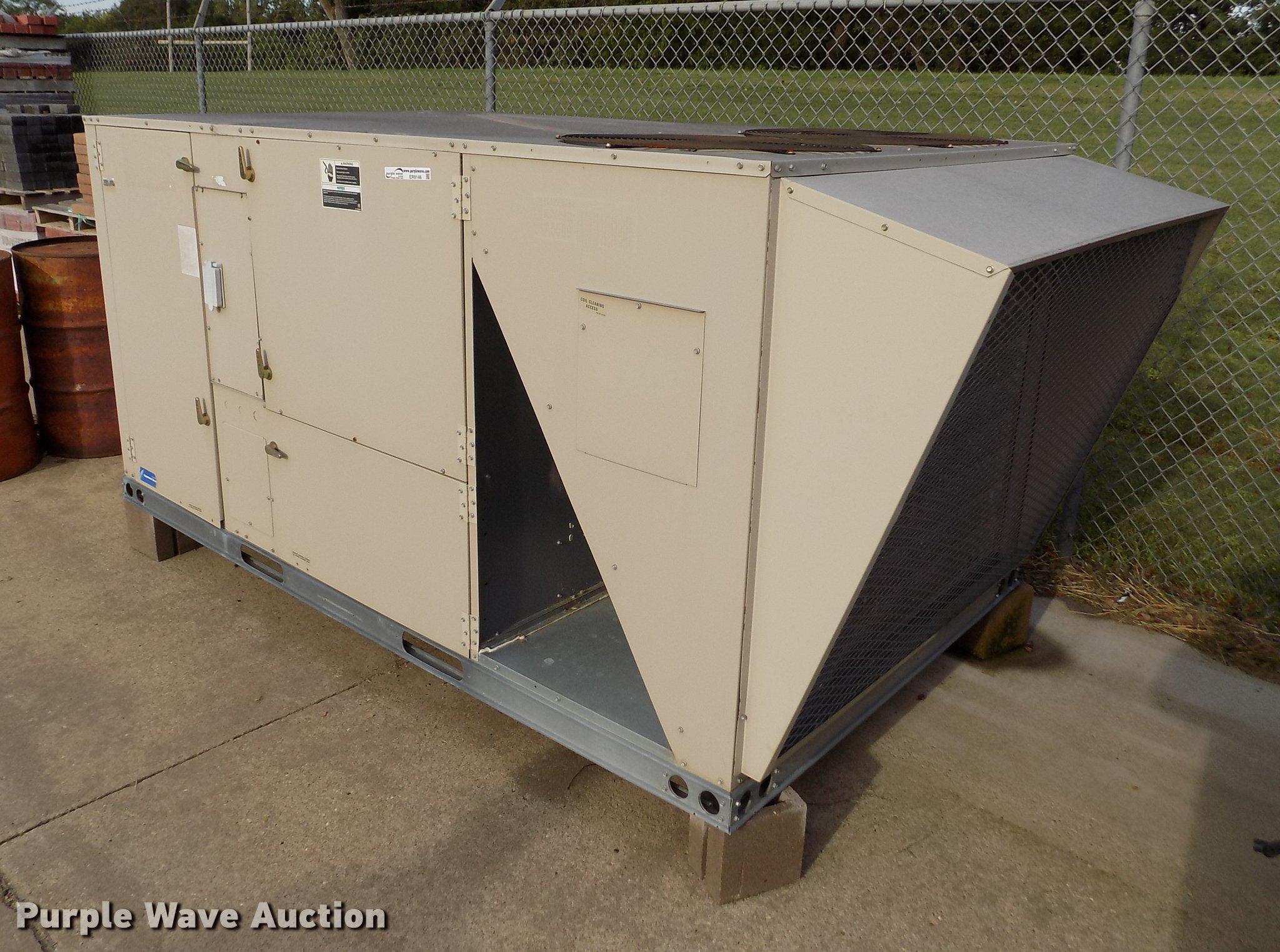 Trailer Ac Unit >> Lennox Rooftop Ac Unit Item Er9146 Sold October 23 Gove