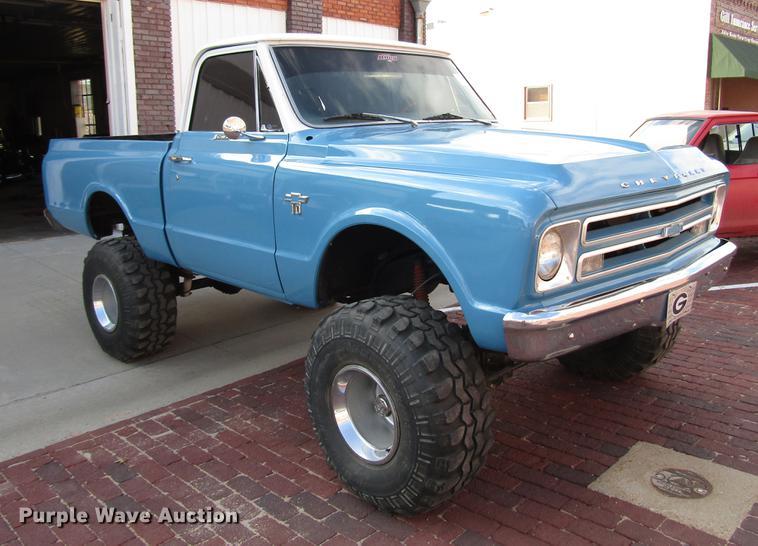 1967 Chevrolet K10 Pickup Truck Item Dd4372 Wednesday Oc
