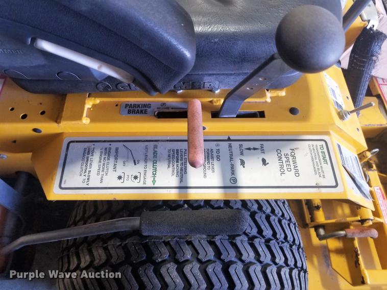 Walker MDDGHS ZTR lawn mower   Item G1336   SOLD! October 24